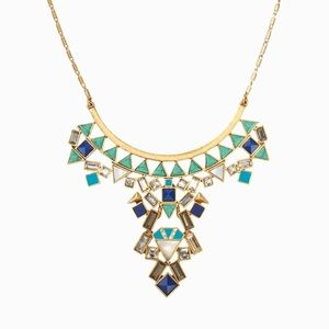 Stella and Dot Stone Tile Necklace
